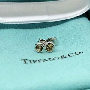 Tiffany & Co. Peretti By The Yard Earrings Citrine
